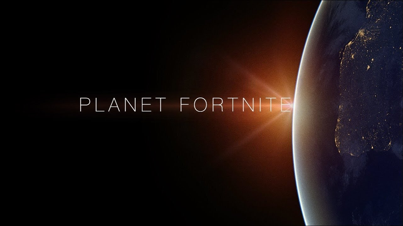 Planet Fortnite - A No Skin Short Film