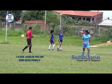 Gol #18 Nicol Jacqueline Peña  Lobo Urubo Soccer Primera B Liga Femenina de Fútbol LIFEFUL