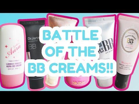 Korean BB Cream Review Showdown!