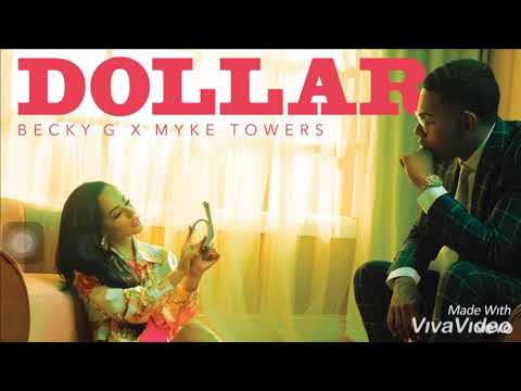 Becky G X Mike Towers Tf DOLLAR ( Audio Oficial)