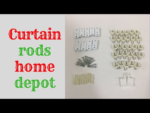 Curtain rods home depot