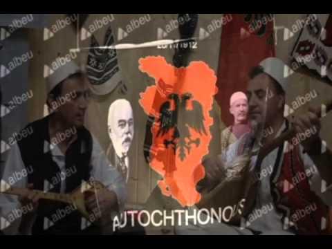 KOMBETARES SHQIPTARE - MOS MA PREK TI SHKJA FLAMURIN ( SHQIPERI - SERBI )
