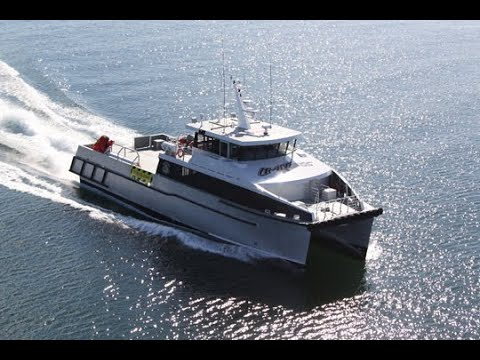 29m Catamaran Utility Vessel - Limitless - designed by Incat Crowther
