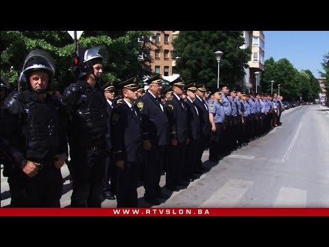 Svečanim defileom u Tuzli obilježen Dan policije - 22.05.2018.