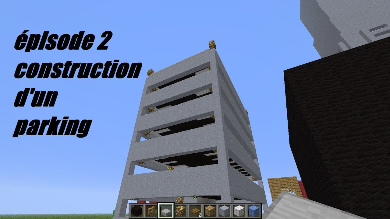 tuto construction d 39 un parking pisode 2 youtube. Black Bedroom Furniture Sets. Home Design Ideas