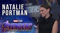 Natalie Portman talks girl power in the Marvel Universe LIVE from the Avengers: Endgame Premiere
