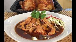 Mexican Soup-How To Make Pozole With Rotisserie Chicken-Quick Recipes
