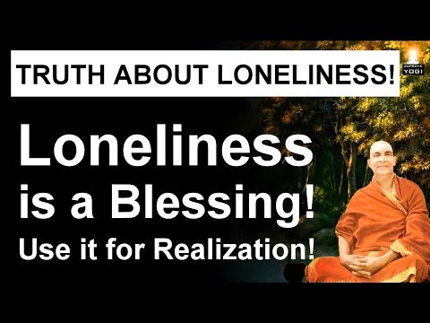 Loneliness is actually helping you! | Meditate in Solitude and Realize Who You Are!