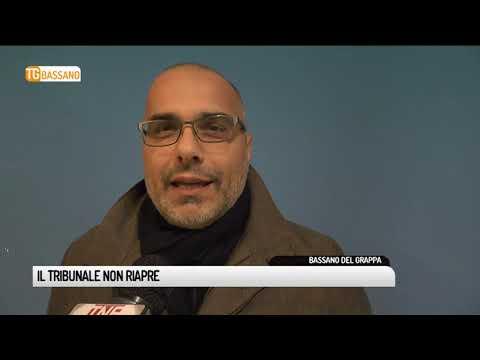 TG BASSANO (13/12/2018) - IL TRIBUNALE NON RIAPRE<...