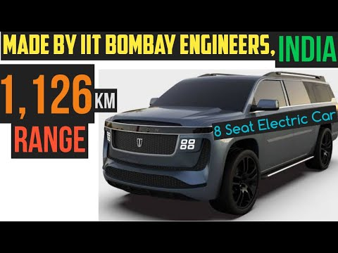 IIT Bombay Engineers Made Electric Car - Triton Model H