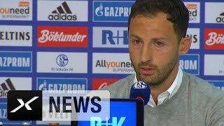 Domenico Tedesco: Benedikt Höwedes auch ohne Binde ein Leader FC Schalke 04 - RB Leipzig 2:0
