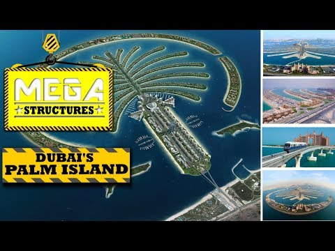MEGA Structure:Dubai's Palm Island By NatGeo ♕हिंदी♕