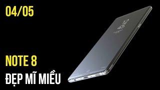 Galaxy Note 8 lung linh trong thiết kế mới, Giá bán chuyên gia selfie Oppo F3