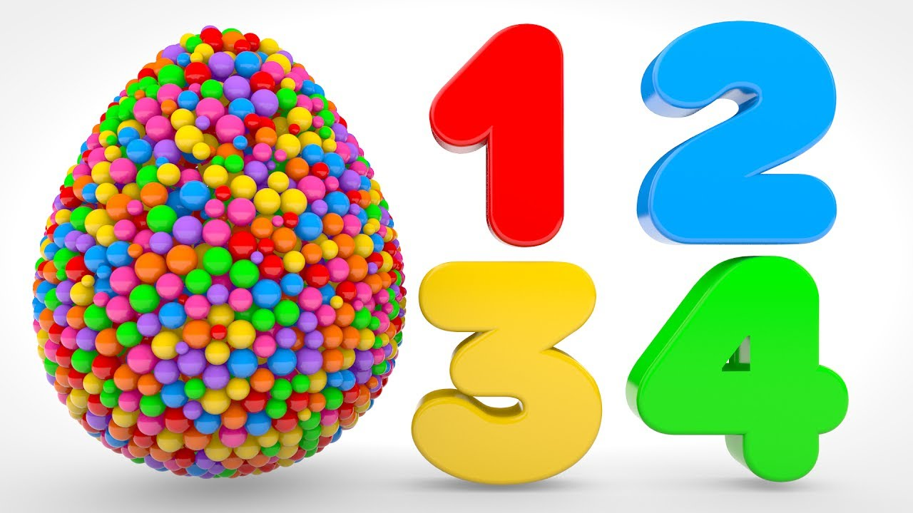 Download Learn Numbers with Color Balls - Numbers & Shapes Collection for Children