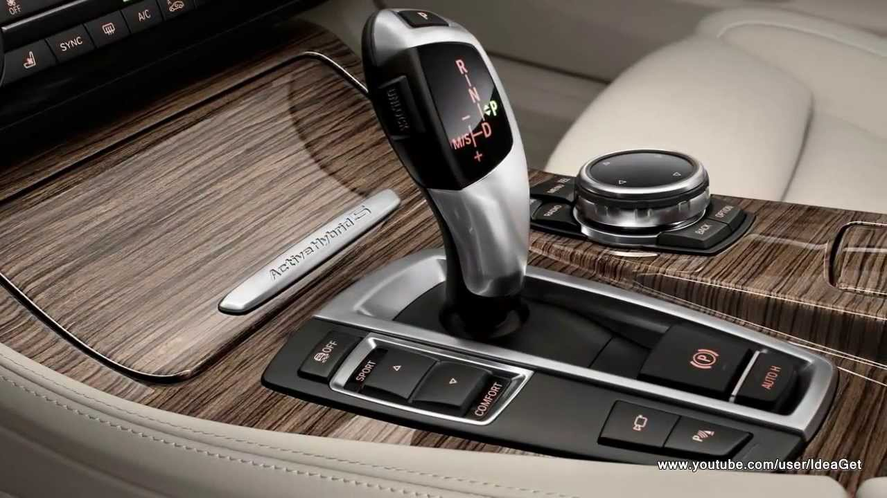 Interior Design 2014 BMW 5 Series Sedan