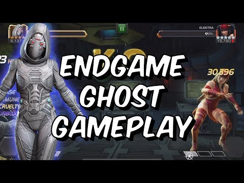 Act 5 and Uncollected Ghost Gameplay - Marvel Contest Of Champions