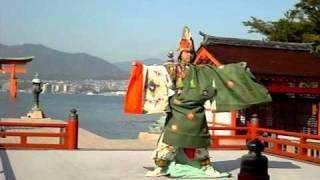 宮島 厳島神社舞楽「延喜楽」
