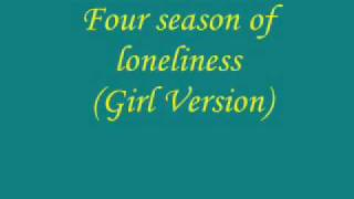 4 season of loneliness