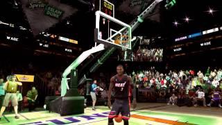 NBA Live 09 - Sprite Slam Dunk Contest (Kobe, D. Wade, LBJ, VC)