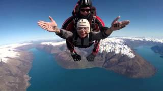Queenstown, New Zealand. NZone Skydiving 2015