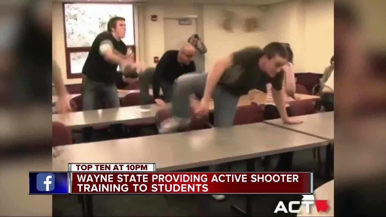 Wayne State University to start active shooter training ...