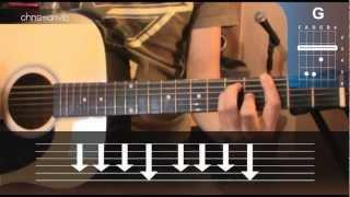 "Cómo tocar ""Tan Lejos"" de No te va Gustar en Guitarra (HD) Tutorial - Christianvib"