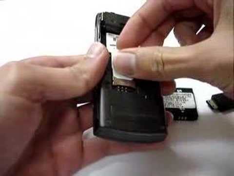 Samsung G600 unlock CLIP by F1 TEAM