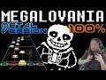 Megalovania Metal Version 100% FC (Guitar Hero Custom / Music by RichaadEB) - Undertale