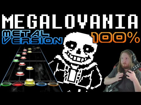 Megalovania Metal Version 100% Full Combo (Guitar Hero 3