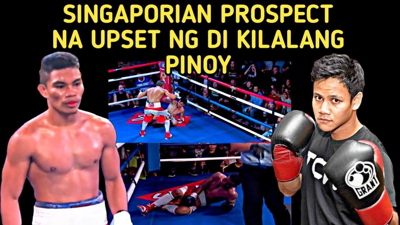 🇵🇭 Pinoy Unknown  At Di Kagandahang Record Na Upset Ang Singaporian Prospect