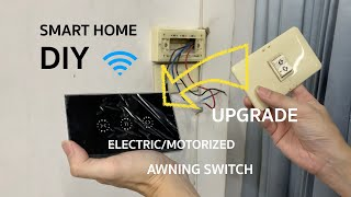 Smart Home Electric Awning Upgrade