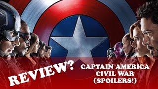Captain America: Civil War (Spoiler Discussion)