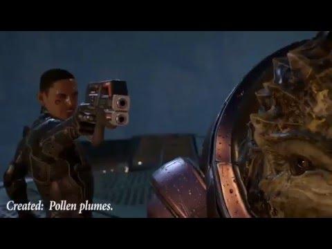 Mass Effect: Andromeda - геймплей (альфа-версия)