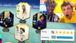 Download KSI vs W2S - MY BEST FUT DRAFT EVER!! 194 RATED CHALLENGE - FIFA 19 Mp3 and Videos
