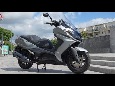 מעולה Scooter GT 125 2015 - Kymco DownTown 125i ABS : Essai AutoMoto SV-88