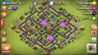 Clash Of Clans - part 20 - trophy push to crystal league