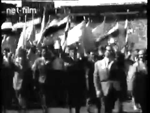 Открытие фестиваля молодёжи и студентов в Москве (1957)