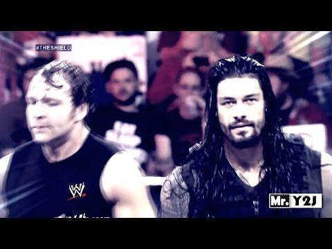 WWE Roman Reigns & Dean Ambrose