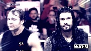 "WWE Roman Reigns & Dean Ambrose ""The Shield"" Titantron Entrance Video 2014 HD"