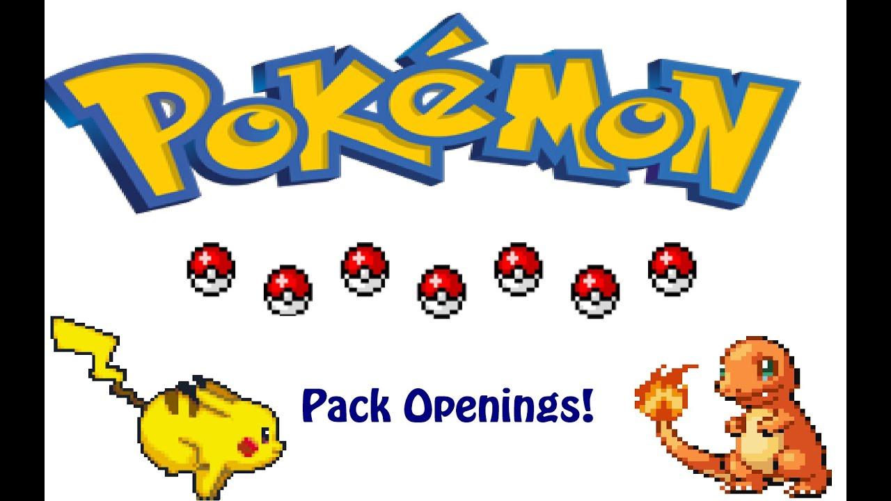 Pokemon booster pack opening simulator