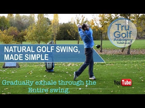 NATURAL GOLF SWING, MADE SIMPLE