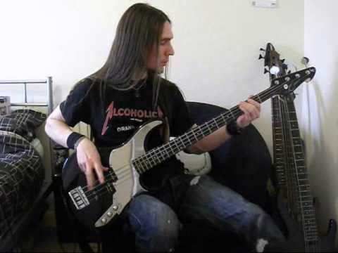 Metallica - Blackened (bass cover)