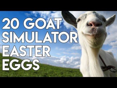 Goat Simulator - 20 Easter Eggs, Secrets & References