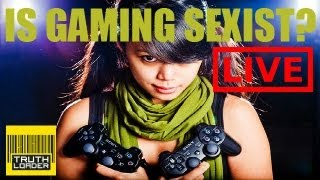 Is Gaming Sexist? - Yogscast Hannah, icklenellierose & Rev3games - Truthloader LIVE thumbnail