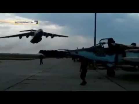 Украинский Ил 76 едва не превратил в братскую могилу стоянку Су 25