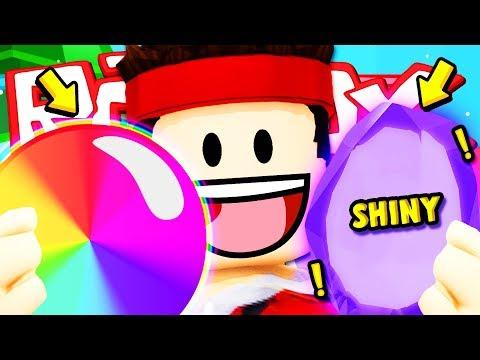 TROVATO UN PET SHINY E GOMMA D'ARCOBALENO OP!! — Roblox ITA (Bubble Gum Simulator)