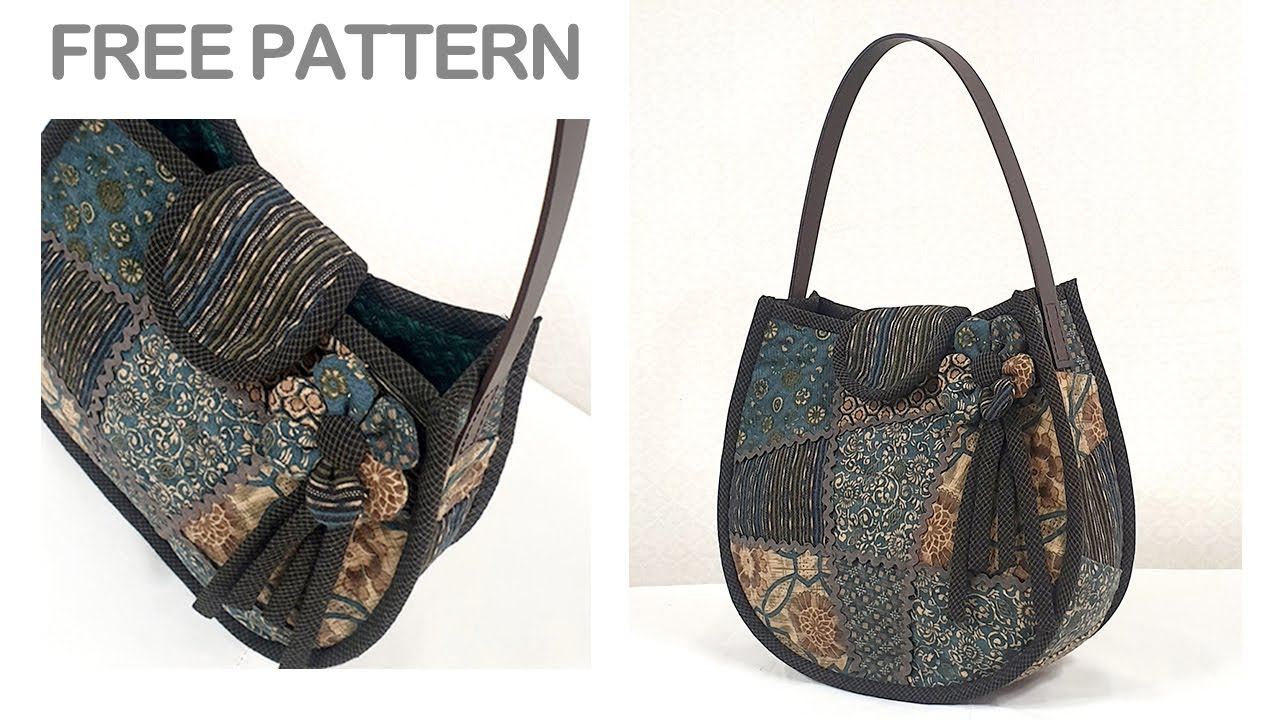 Quilting Bag Making Free Patterns Quilt Tutorial Pattern Hand