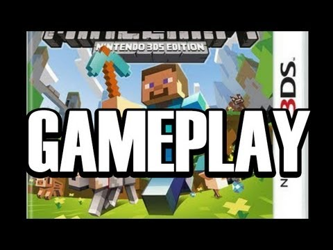 Minecraft DS Gameplay Minecraft Nintendo DS Edition YouTube - Minecraft ds spiele