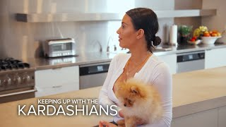 KUWTK | Kim Kardashian Refuses to Return Kourtney's Dog | E!
