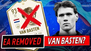 Marco Van Basten Removed From Fifa 20?